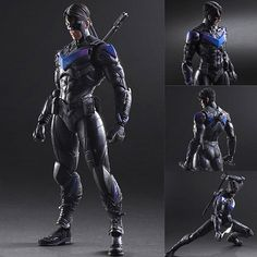 Play Arts Kai Night Wing from Batman: Arkham Knight DC Comics [PRE-ORDER]  Expected release date: Mid September 2016, available for pre-order from: http://www.figurecentral.com.au/products/play-arts-kai-night-wing-from-batman-arkham-knight-dc-comics-pre-order?variant=18061833985  #playartskai #nightwing #batman #dccomics #figurecentral