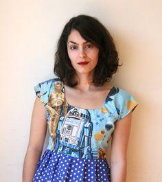 Star Wars Dress Sz XS S M L by rustycuts on Etsy, $75.00
