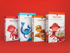 The Best Packaging Design Ideas for 2019 You Need to See Design Web Design Ledger Cereal Packaging, Kids Packaging, Food Packaging Design, Coffee Packaging, Chocolate Packaging, Bottle Packaging, Line Design, Box Design, Design Ideas
