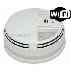 WiFi Smoke Detector Hidden Camera - Down View Camera - Spy Centre Security