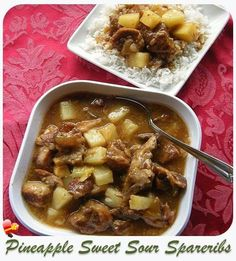 Delicious sweet and sour pineapple spare ribs recipe. Get more local style recipes here.
