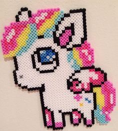 perler beads unicorn - Google Search