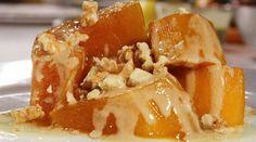 Kabak tatlısı bir ramazan klasiğidir. Peki tahinle birleşirse nasıl olur dersiniz? Denemeye değer... http://www.migrostv.com/tahinli-kabak-tatlisi/