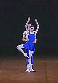 GIF Svetlana Zakharova and Artem Shpilevsky in 'Class Concert', Bolshoi Ballet, 2007