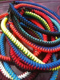 SPORTZ CORDZ Custom designed necklaces made with 550 Paracord