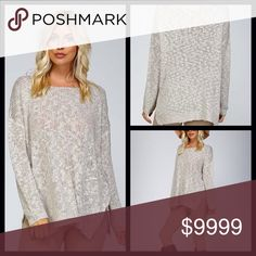 COMING SOON⭐️ Textured Boat Neck Sweater Textured knit boat neck sweater. ⭐️Crochet textured knit ⭐️Partial see through ⭐️Drop shoulders with long sleeve ⭐️Split sides with ribbed bottom edge ⭐️50% acrylic 50% cotton 🚫Trades/ PayPal or Mercari *️⃣Price Firm Unless Bundled 🚫Exchanges *️⃣ All items inspected and photographed prior to shipment for quality control Sweaters Crew & Scoop Necks