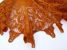 Live Oak Shawlette - pattern by Romi Hill