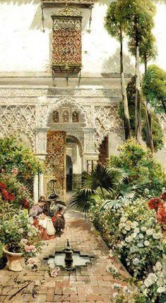 Manuel García y Rodríguez - Un Jardín en Sevilla