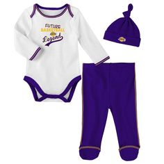 833e34b48 Los Angeles Lakers Future Basketball Legend 3 Piece Outfit