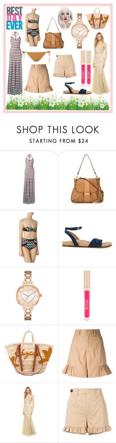 """""""best fashion day forever"""" by kristen-stewart-2989 on Polyvore featuring Dsquared2, Missoni, STELLA McCARTNEY, Kate Spade, Stila, See by Chloé, Muveil, Badgley Mischka, Ganni and Ermanno Scervino"""