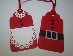 Santa & Mrs. Claus Tag - MerryMade Cards and Crafts