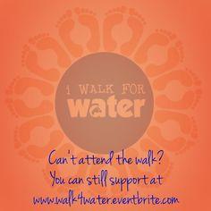 #walk4water