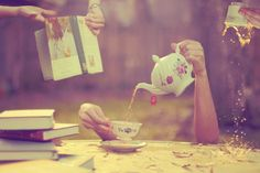 Tea time gone wild!  'The Golden Afternoon' by 'fourteatwo' <3