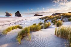Wharariki Beach by Sven Müller on 500px  New Zealand