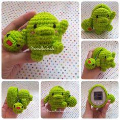tamagotchi crochet cover for tamagotchi 4u 4u+