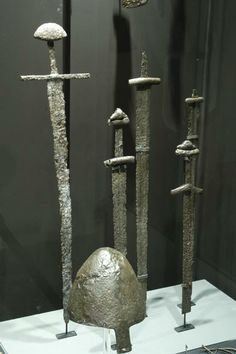 X-XI century swords from museum of Gniezno,