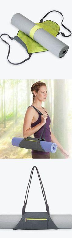 Sporealth Yoga Mat Bag Wrap Bag Carrier Plain Shoulder Daily Cotton Canvas Yoga Mat Bag Easy to Carry For Yoga Lovers #yogamatbags