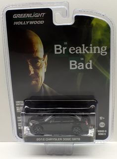 Greenlight Hollywood Series 9 - 2012 CHRYSLER 300C SRT8 - Breaking Bad #GreenLight #Chrysler