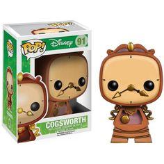 *Now Own* Disney Pop! Vinyl Figure Cogsworth [Beauty & The Beast] - Disney - Funko Pop! Disney Pop, Disney Belle, Disney Pixar, Figurines D'action, Pop Figurine, Funk Pop, Pop Vinyl Figures, Pop Figures Disney, Big Ben