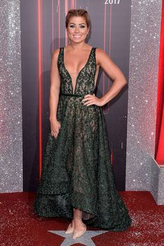 Nikki Sanderson attends The British Soap Awards at The Lowry Theatre on June 3, 2017 in Manchester, England. The Soap Awards will be aired on June 6 on ITV at 8pm.