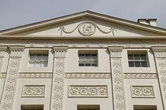 More fabulous Robert Adam: Kenwood House, south façade