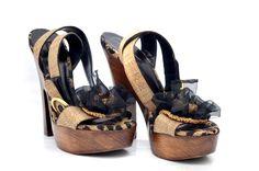847f220f7c0d Dolce   Gabbana Flower Wooden Clog Heels