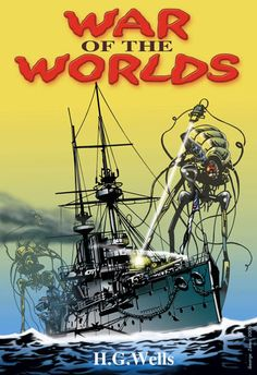 [The] War of the Worlds (unknown ed.)   Cover art by George Jones