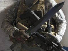 Ready to go outside. M1 Tactical Short Sword by Miller Bro Blades
