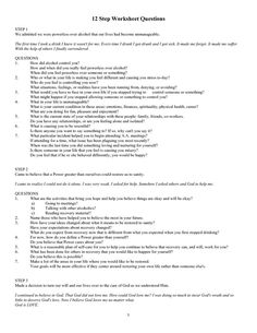 Inspirational Aa Step 1 Worksheet – Remove or you might decide to add the worksheet employing some basic steps that I'm going to demonstrate to you. At times you'll find worksheets and you would like to hide a variety of . Addiction Therapy, Drug Addiction Recovery, Addiction Help, Aa Steps, Substance Abuse Counseling, Relapse Prevention, Celebrate Recovery, Therapy Worksheets, Counseling Activities