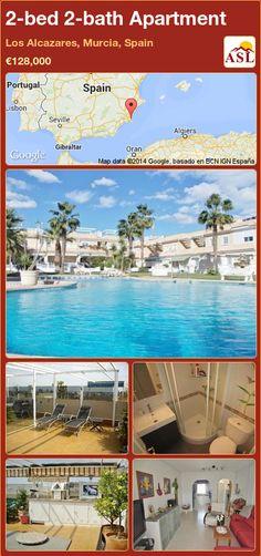 2-bed 2-bath Apartment in Los Alcazares, Murcia, Spain ►€128,000 #PropertyForSaleInSpain