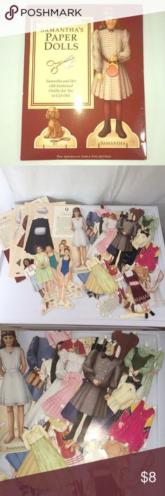 American Girl Paper Dolls American Girl paper doll set that includes Samantha and several other real American girls. Tons of outfits and many that have never been cut and used. All still in great condition and perfect for the American Girl fan. Ideal for ages 7 and up. American Girl Other