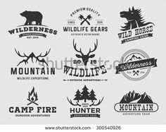Camp Logo Stock Photos, Images, & Pictures | Shutterstock