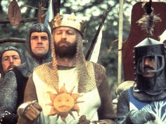 """Monty Python and the Holy Grail (1975)  Graham Chapman, John Cleese, Eric Idle, Michael Palin - Directors: Terry Gilliam, Terry Jones - The Pythons go medieval and take on the Arthur legend.  Picking one quote was hard.  """" Oh, wicked, bad, naughty Zoot! She has been setting a light to our beacon, which, I've just remembered, is Grail shaped. It's not the first time we've had this problem."""""""