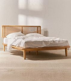 Urban outfitters predicts this trend will be huge bed a shop platform bohemian frame Guest Bedroom Decor, Bedding Master Bedroom, King Bedding Sets, Luxury Bedding Sets, Modern Bedding, Bedroom Kids, Comforter Sets, Bedroom Headboards, Bedding Decor