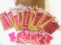 DIY lingerie shower invites-- step by step instructions