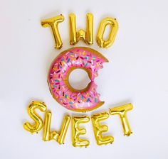 Planning a Birthday Party and need ideas for themes? We've got you covered with 8 party themes that will work for a girl or a boy! 2nd Birthday Pictures, Second Birthday Boys, 2nd Birthday Party For Girl, Donut Birthday Parties, Birthday Themes For Boys, Donut Party, Birthday Celebration, Birthday Cakes, Letter Balloons