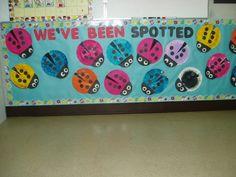ladybug bulletin board Ladybug Bulletin Boards, Seasonal Bulletin Boards, Teaching Ideas, Seasons, Decor, Decoration, Seasons Of The Year, Decorating, Deco