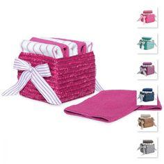 #carillopin http://www.carillobiancheria.it/set-6-lavette-in-spugna-con-cestino-28x28-cm-novia-m267-15559.html