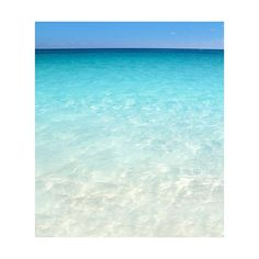 Caribbean turquoise sea beach shore white sand ❤ liked on Polyvore featuring backgrounds, water, beach and pictures