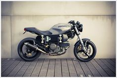 Ducati Monster - Rive GaucheKustoms - Pipeburn - Purveyors of Classic Motorcycles, Cafe Racers & Custom motorbikes