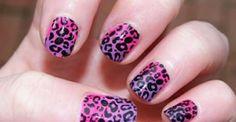 leuke tijger print op je nagels