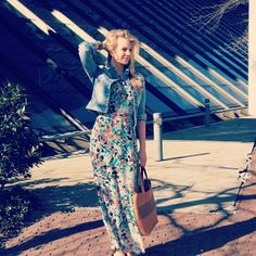 As part of our April campaign, we got some of our employees out in the sun for a quick photoshoot. Here one of our interns wears our beautiful maxi dress, great for a summer holiday! #Mexx #fashion #dress #spring #summer #campaign #trends #holiday #look #ootd #photoshoot #newcollection