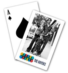 Personalized Playing Cards ... what a fun gift for friends and family