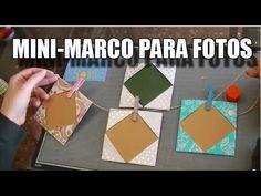 Vídeo-tutorial donde te enseñamos a hacer un estupendo mini marco de fotos origami con papel de regalo  que podras utilizar para decorar tus proyectos scrapbook. Este marco de fotos de papel es muy sencillo de hacer, solo hay que atreverse y ponerse manos a la obra.