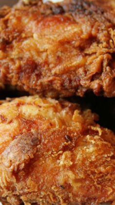 Almost Famous Fried Chicken ~ This is some OUTSTANDING chicken... The buttermilk marinade is what makes it so awesome