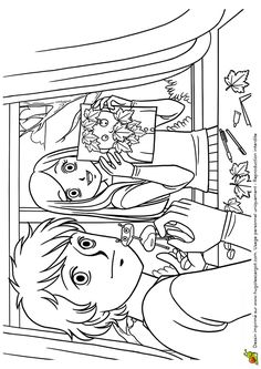 coloriage dessin automne marrons chauds coloriages dessins d