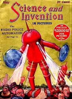 Science And Invention Magazine from the 1920s