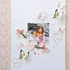 Today Julia is here to show you the new projects with Kaisercraft product and Video Tutorial! Let's have Fun! It's a very very beautiful and nice collection. i lov… Scrapbooking Layouts, Scrapbook Pages, Misty Eyes, Photo Memories, General Crafts, Clear Stamps, Pattern Paper, Scrapbooks, Diy And Crafts