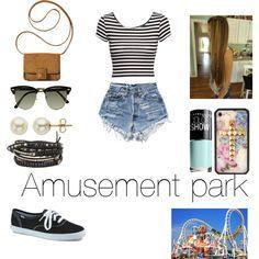 amusement park outfit ideas - Google Search