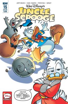 Uncle Scrooge (2015) Issue #15
